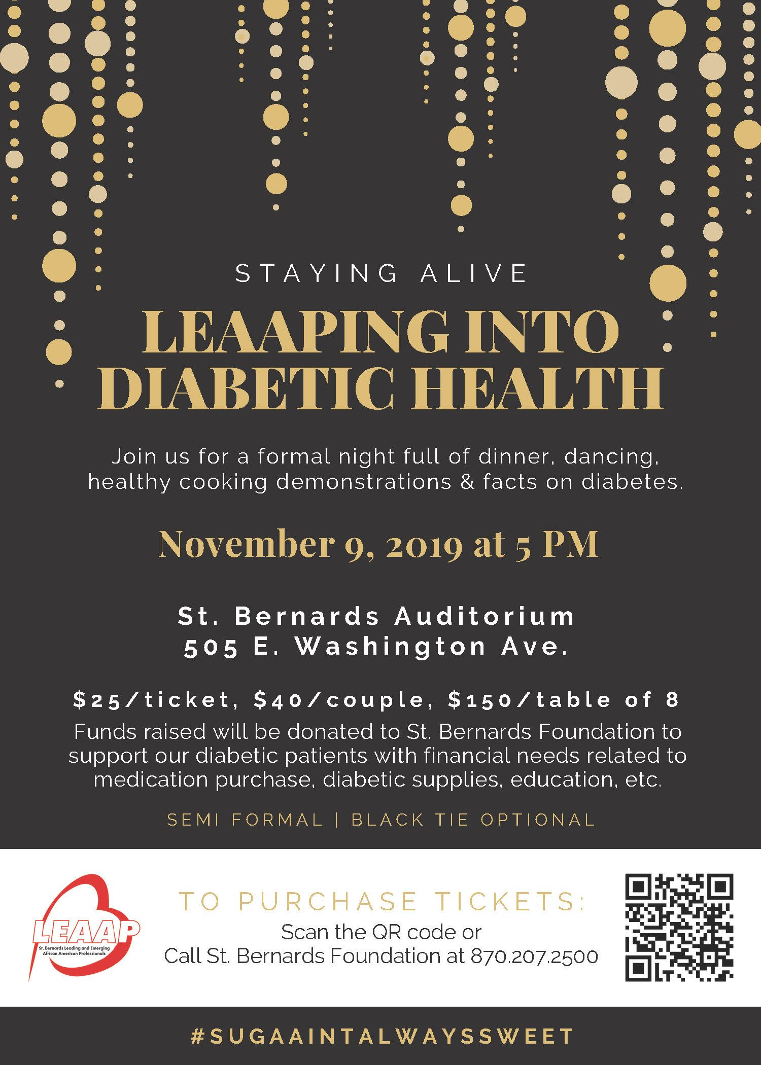 LEAAPing into Diabetic Health Final Flyer