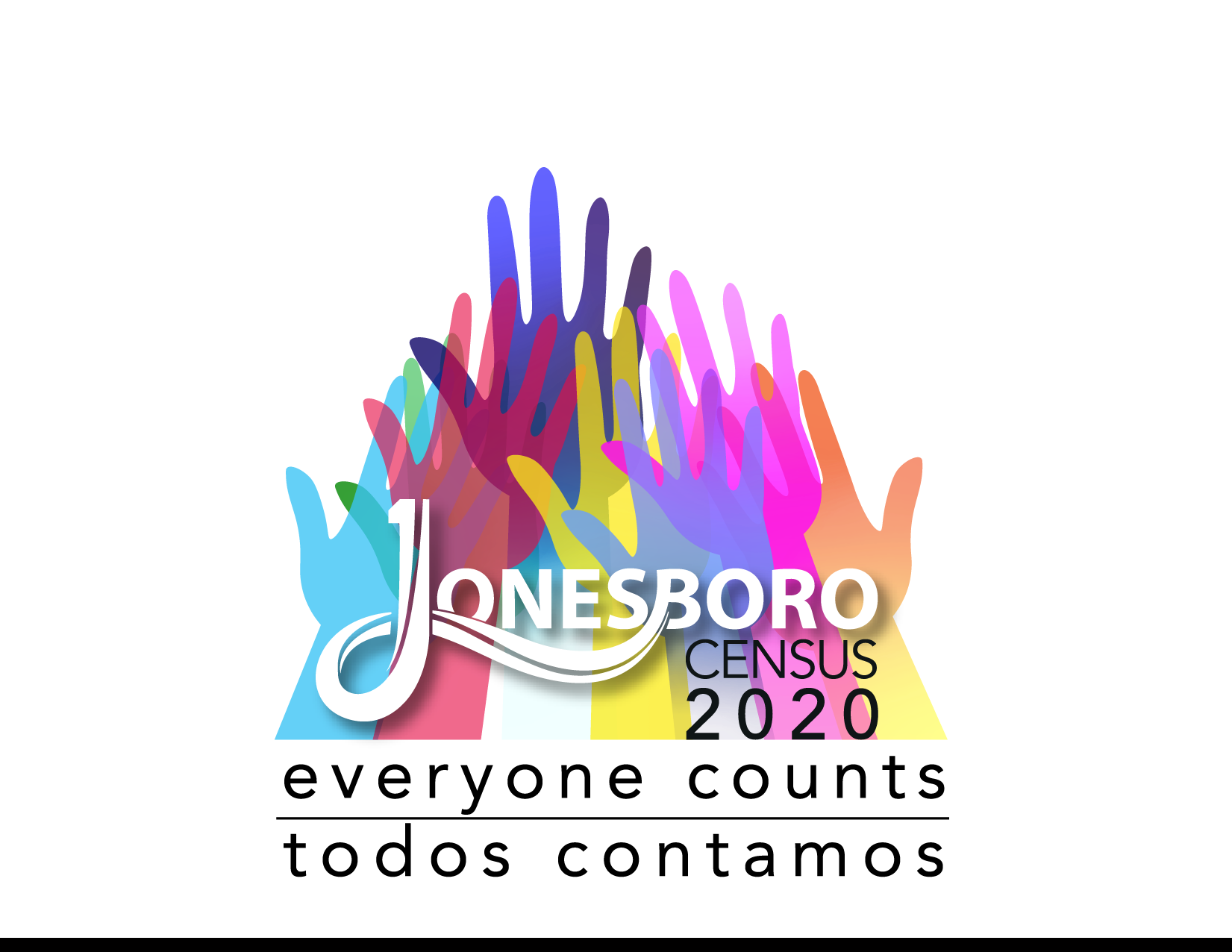 2020 Census Logo for Jonesboro that reads Everyone Counts