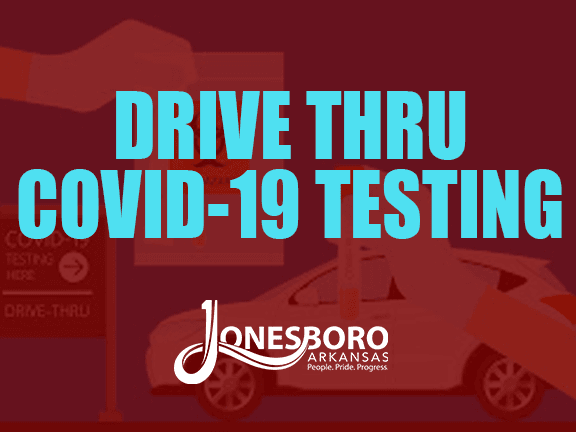 drive thru testing GRAPHIC