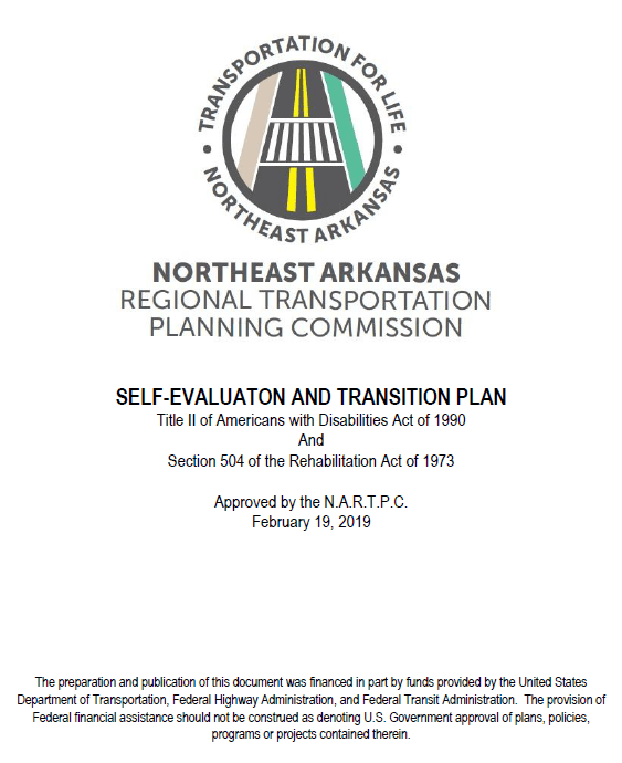 MPO Title II Self-Evaluation and Transition Plan